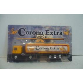 Trailer Corona Extra Ceveza - Camioncito De Juguete Escala