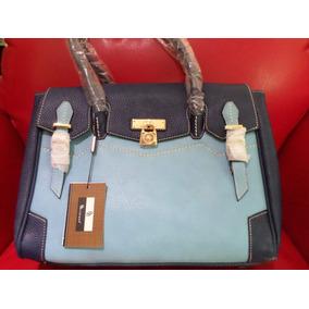 Bolsa Brentano Tipo Portafolios Azul Grande