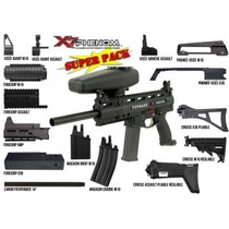 Tippmann X7 Phenom Elec Power Pack Marcadora Gotcha Xtrem