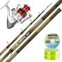 Equipo Pesca Pejerrey Kunnan Horcones 4 M + Reel Aquila 1008