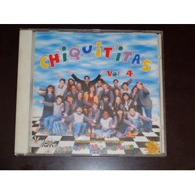 Cd Chiquititas Volume 4 Raro !!!