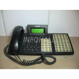 Telefone Philips Sopho Set150 Com Módulo Ramal 60 Teclas