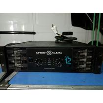 Potencia Amplificador Crest Ca 12