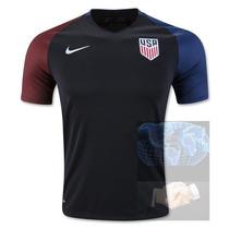 Jersey Estados Unidos Negra Visita Nike 2016 Dempsey Camisa
