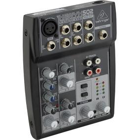 Xenyx 502 Mesa De Som Behringer Xenyx502 Xenyx - 502 C/ Nf-e