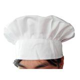 Chapéu De Cozinheiro - Chefe De Cozinha Gourmet Unissex