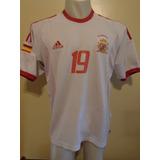 Camiseta Fútbol Selección España Mundial Japón 2002 Xavi #19