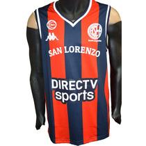 Camiseta San Lorenzo Basquet Kappa Titular 2017