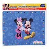 Vasos Pitillos Mantel Platos Kit Fiesta Mickey Mouse Irlimca