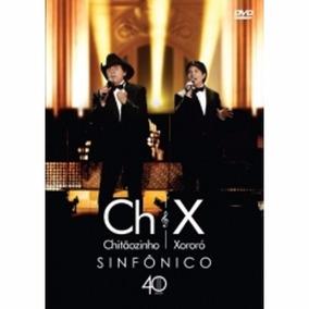 Dvd Chitãozinho & Xororó - Sinfonico 40 Anos Dvd + Cd