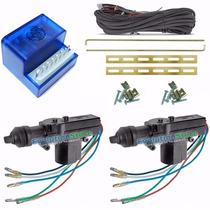 Kit Trava Eletrica 2 Portas Universal Dupla Serventia