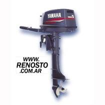 Motores Yamaha 5hp Pata Corta Entrega Inmediata! Renosto