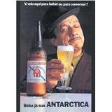 Quadro 20x30 Com Moldura E Vidro+foto Dig.cerveja Antárctica