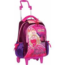 Mochila De Carrinho Barbie A Princesa E A Pop Star G Sestini