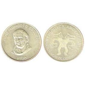 Monedas Esquiu De Plata Catamarca Colección!