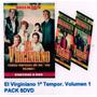 El Virginiano Primera Temporada Vol 1 Dvd Pack