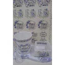 Set Dia De La Madre De Porcelana Personalizado