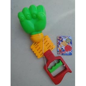Mão Bionica Soco Pantografica Fantasia Policia Bombeiro