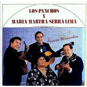 Maria Martha Serra Lima Trio Los Panchos Cd Esencia Romantic