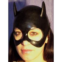 Gatubela Mascara Latex Halloween Terror Catwoman