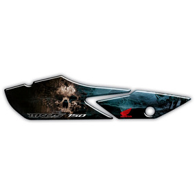 Adesivo Para Protetor De Escapamento Honda Bros 150