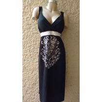 Hermoso Maxi Dress Vestido Bordado Talla Extra Xxl 2xl