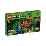 Lego Minecraft La Caja Del Arbol En La Jungla 21125