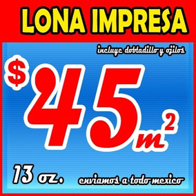 Lonas Impresas A Todo Color $45 M2 , Lonas Impresas , Vinil