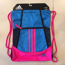 Bolsa Sackpack Alliance 2 Adidas Original Gimnasio Pink