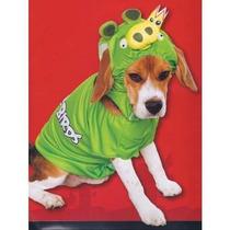 Disfraz Para Perro Papel Mágico Angry Birds Rey Cerdo Perro