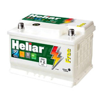 Bateria Automotiva Heliar,60 Amperes, Polo Direito - Sl60dd