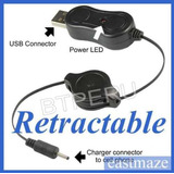 Cargador Usb Retractil Para Audifonos Bluetooth Celulares