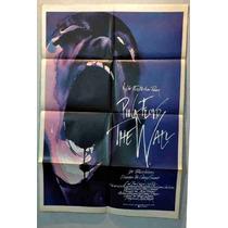 Pink Floyd The Wall Afiche De Cine Original 1982