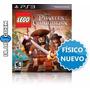 Lego Piratas Del Caribe Ps3 - Fisico Sellado * Blue Coin