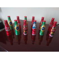 Mini Garrafinhas Coca Cola Copa 2014 - Venda Avulsas