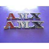 Emblemas Amx Rambler Rally Clasico Amc