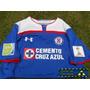 Jersey Cruz Azul Con Parches Mundial De Clubes 2014 Local