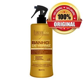 Spray Protetor Térmico Queratina Hidrolisada Banho De Verniz