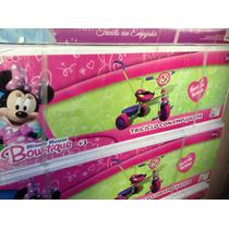 Triciclo 3 En 1, Minnie O Princesas!!!!!!