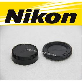 Tampa Do Corpo E Da Lente Nikon * D70s D90 D3100 D3200 D5100