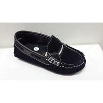 Zapatos De Niño Tipo Mocasin