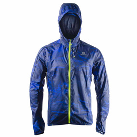 Campera Rompeviento Salomon Fast Wing Graphic Hoodie H