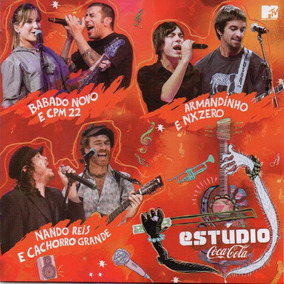 Cd Estúdio Coca-cola - Novo Lacrado - Poa Em Mãos