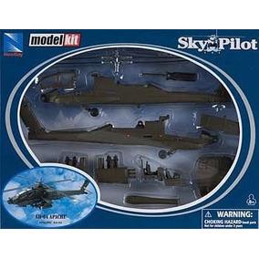Kit Montar Helicóptero Apache Ah-64 New Ray 1:60
