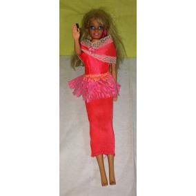 Boneca Antiga Da Barbie Roupa De Festa Original Mattel Rara