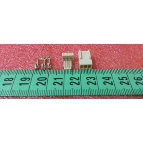 Conector Polarizado 3 Pines Rectos Incluye Pin Metalico
