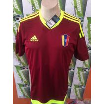 Jersey Adidas De Venezuela 100% Original 2015 De Local