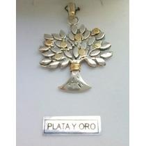 Arbol De La Vida Divino!!! Plata Y Oro