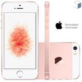 Celular Apple Iphone Se 64gb Dual Core 1.8 Ghz Ouro Rosa