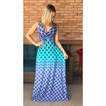Vestido Moda Evangélica Longo Social Madrinha Casamento Fest